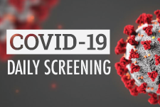 covid-19 daily screening form